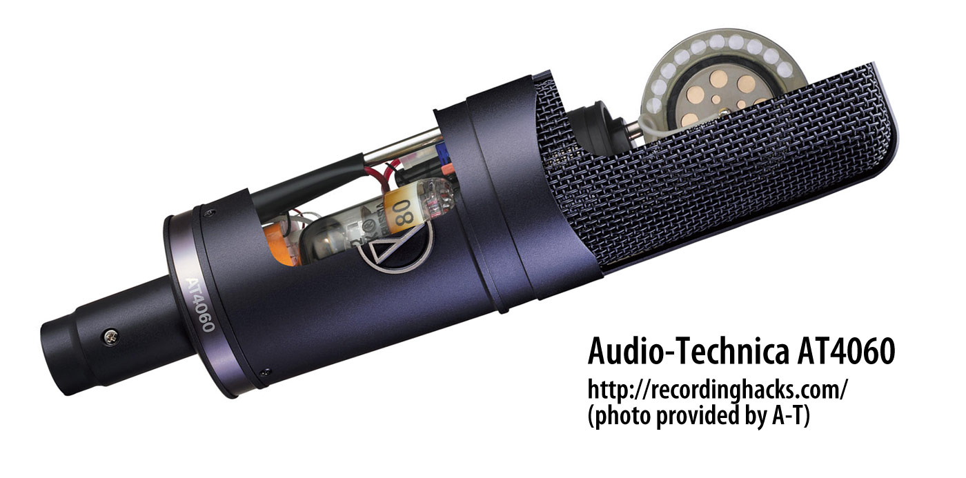 Micro thu âm Audio Technica 4060