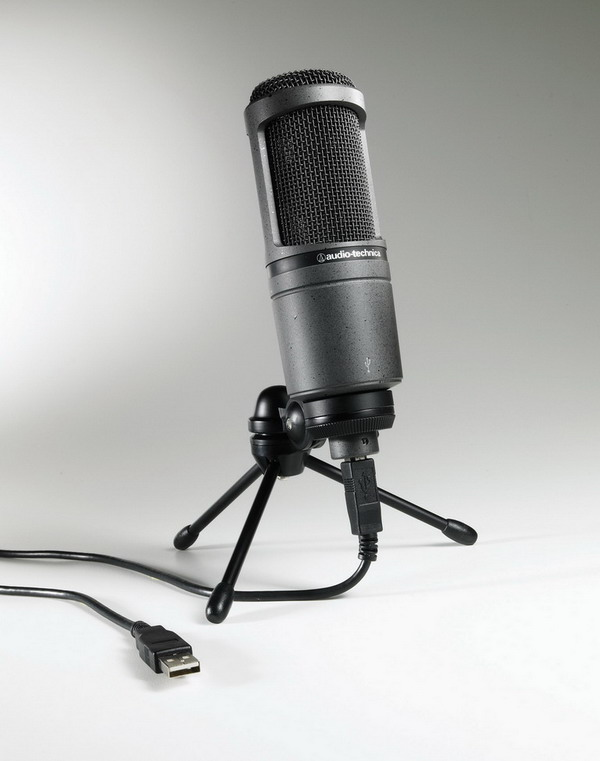 Micro thu âm USB AudioTechnica 2020