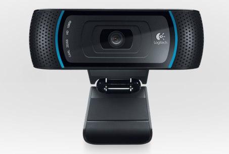 Webcam Logitech HD Pro Webcam C910