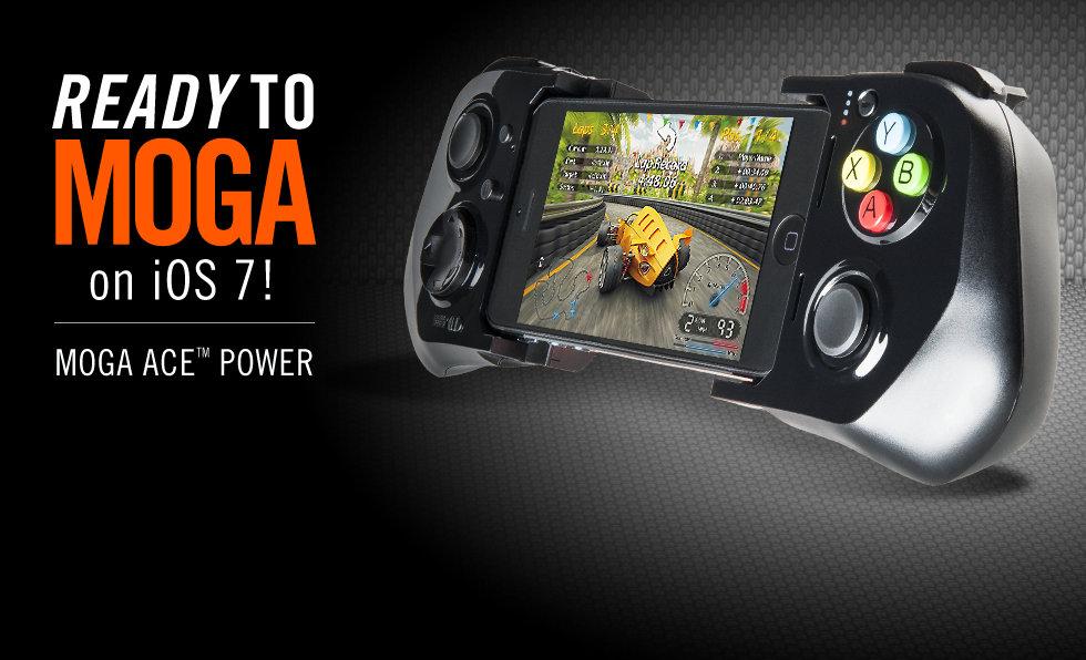 MOGA ACE Power - Tay cầm game iPhone, iPad iOS 8