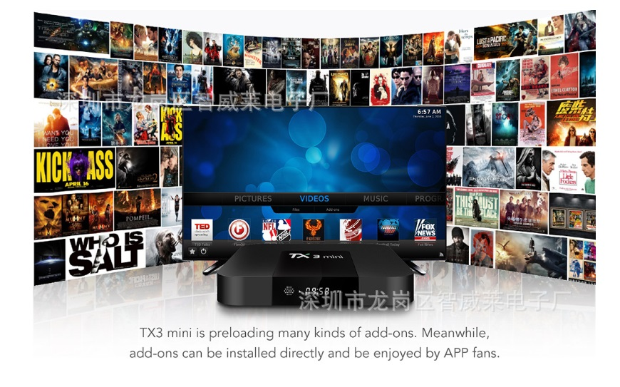 Tanix TX3 mini RAM 2GB/16GB Android 7.1 TV Box