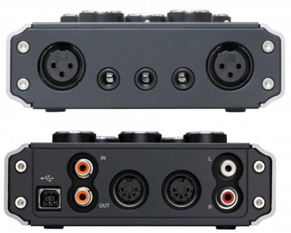Sound card thu âm Tascam US-144