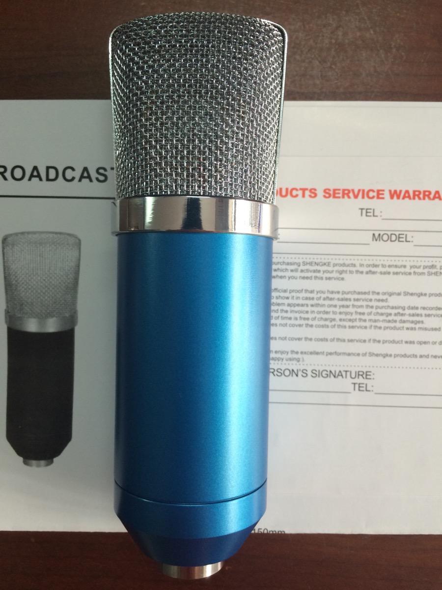 Micro thu âm, hát karaoke online giá rẻ Studio 1