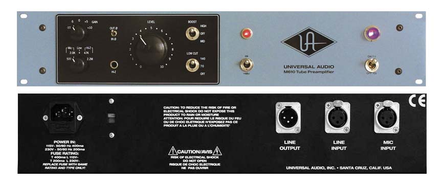 Preamp cao cấp Universal M610