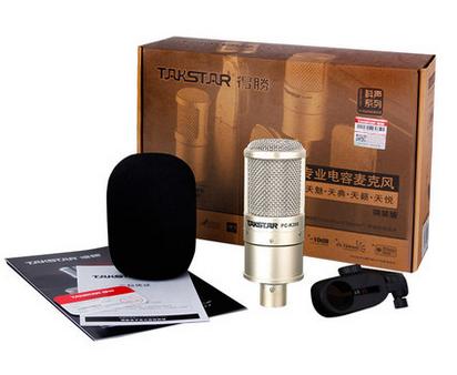 Micro thu âm Takstar PC - K200 Lite (seri 2011)