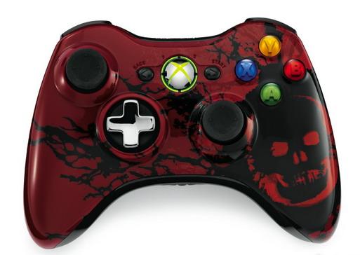 Gamepad Xbox360 wireless Gears of War 3