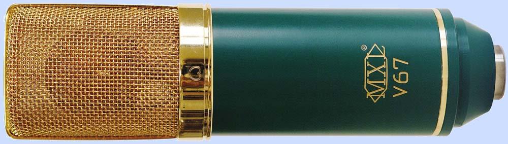 Micro thu âm MXL V67 Gold
