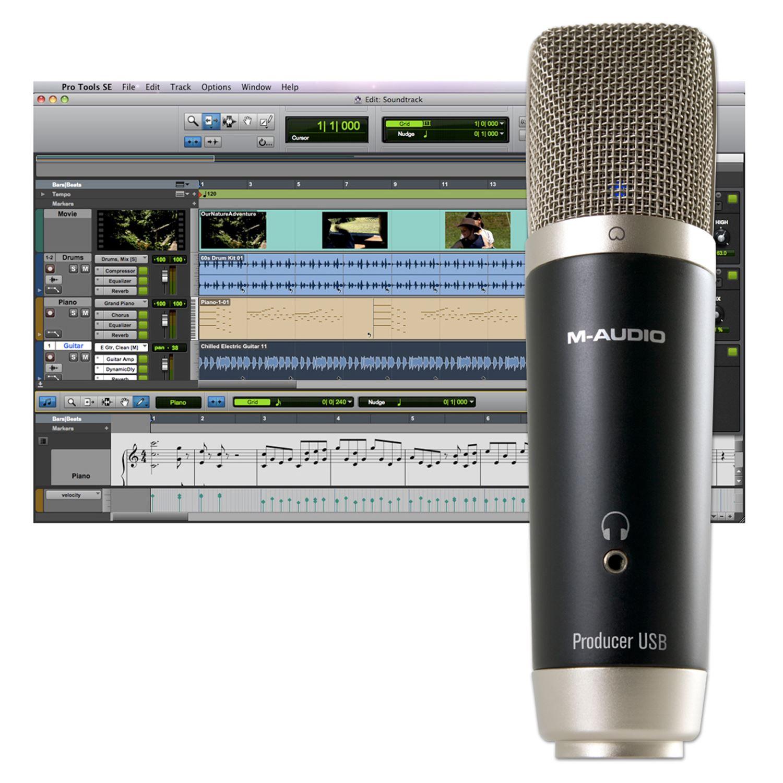 Micro thu âm M-Audio USB
