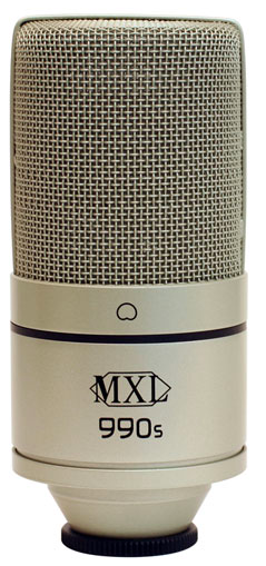 Micro thu âm MXL 990S