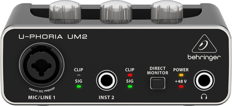 Sound card thu âm Behringer UM2