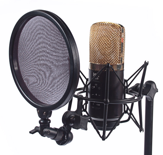 Micro thu âm ISK RM-8