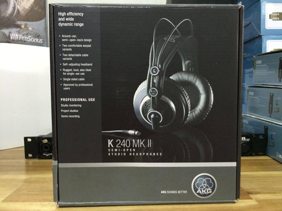 Tai nghe kiểm âm AKG K240MKII Studio