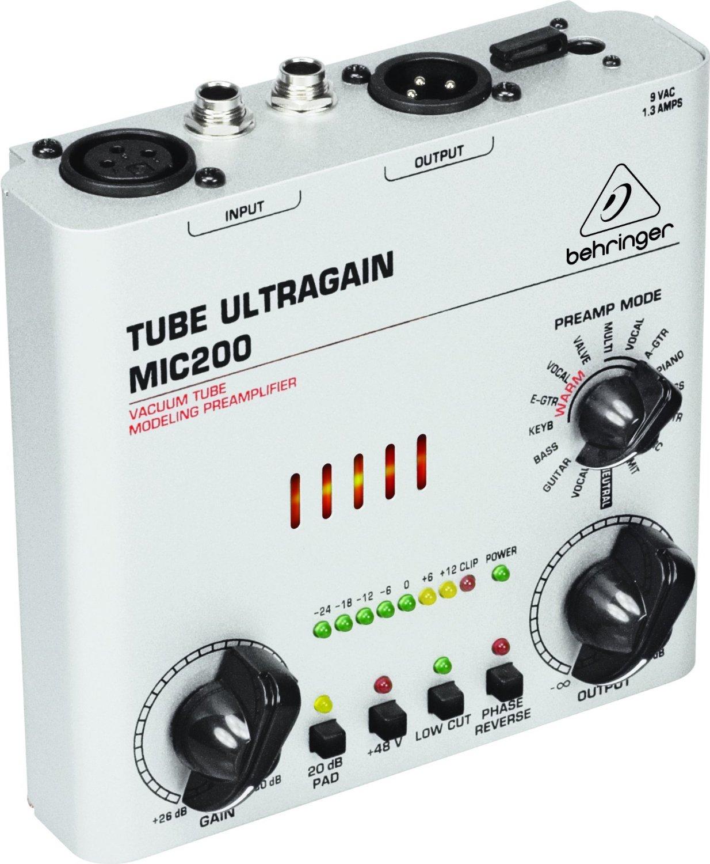 Behringer Preamp Tube ULTRAGAIN MIC200