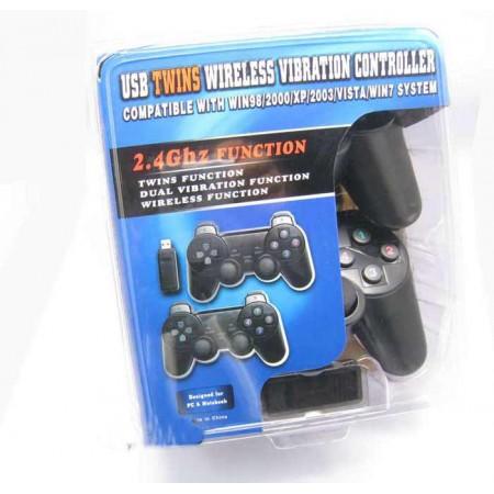 Gamepad đôi không dây giá rẻ cho PC