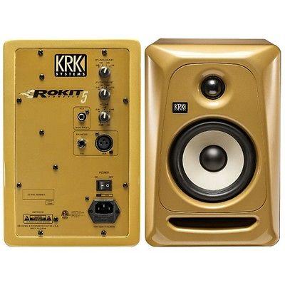 Loa kiểm âm monitor KRK RP5 G3 Vintage Gold Limited