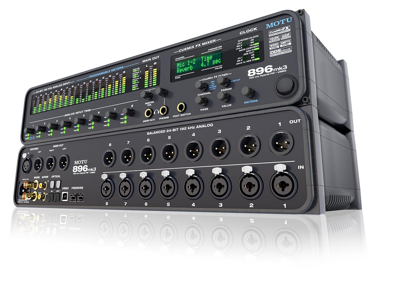 Sound thu âm cao cấp Motu 896 MK3 Hybird