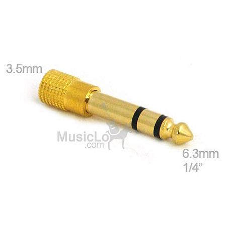 Đầu chuyển 3,5mm to 6,3mm (2 chiều)
