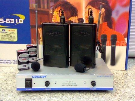 Micro cài áo không dây Takstar TS-3310PP
