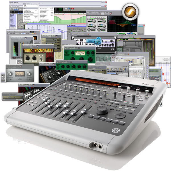 Sound card thu âm Digidesign 003 Console
