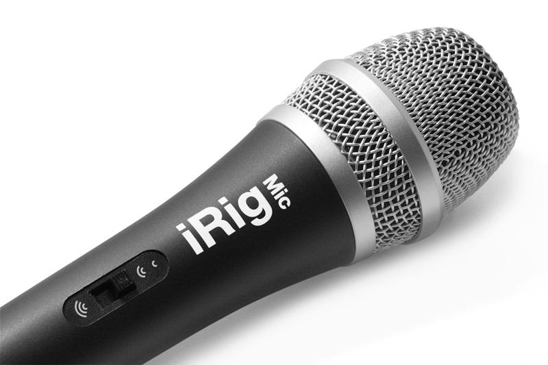 Micro thu âm iRig cho Ipad, Iphone, Android, máy tính bảng