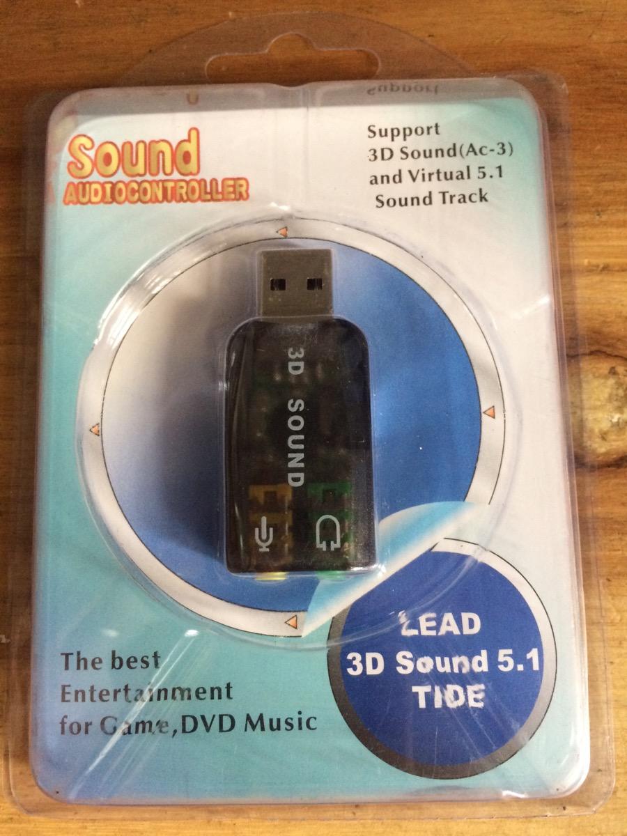 Sound USB 3D chia 1 phone 1 mic