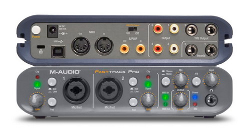 Sound card thu âm USB M-Audio Fast Track Pro