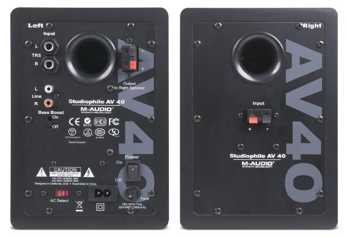 Loa kiểm âm monitor M-Audio Studiophile AV 40