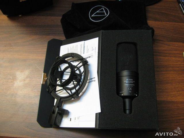 Micro thu âm Audio Technica AT4040