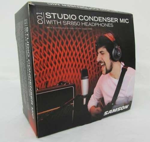 Combo micro thu âm Samson C01 + Headphone SR850