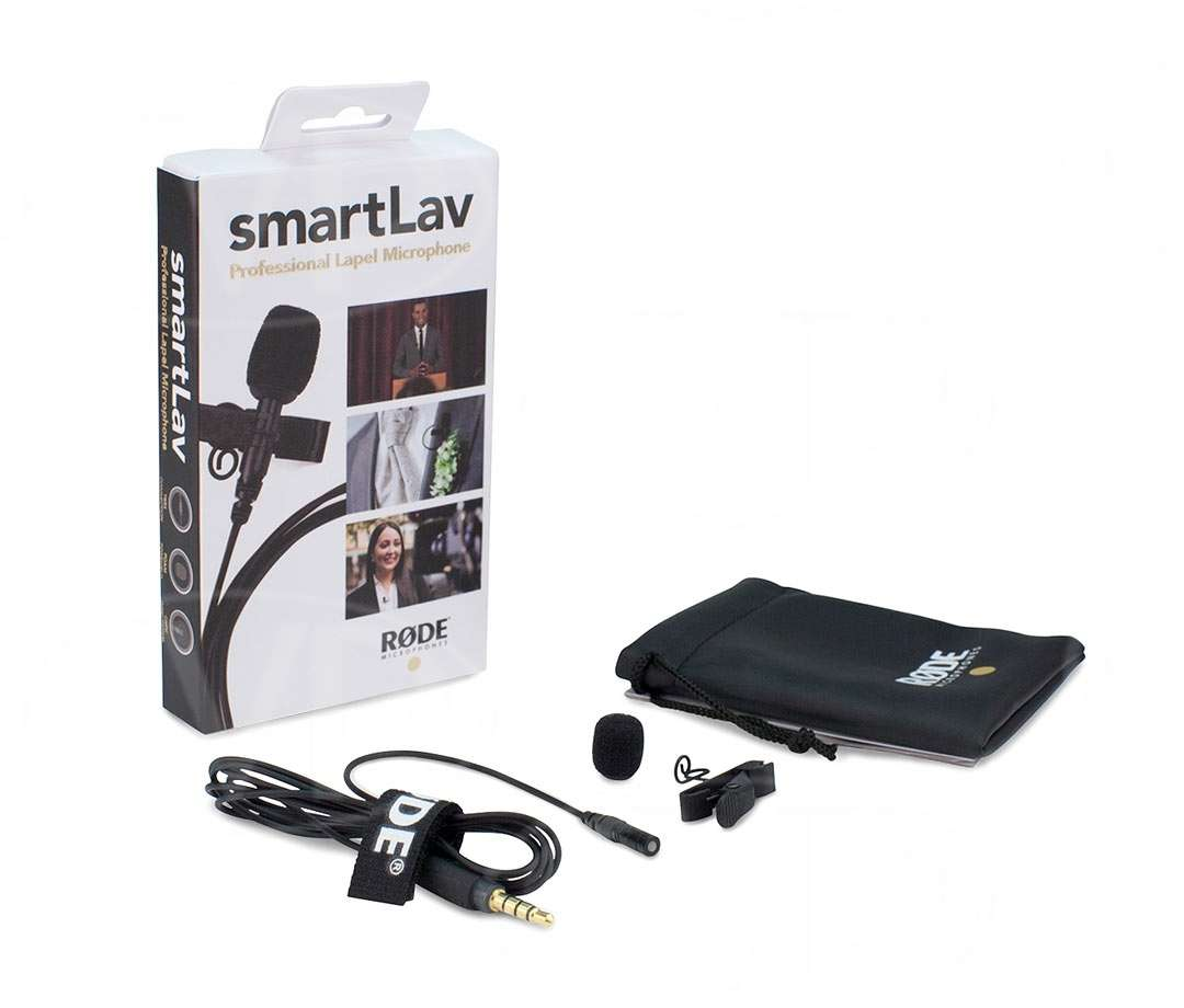 Micro cài áo cho Smartphone Rode Smart LAV