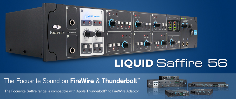 Sound card thu âm Focusrite Liquid Saffire 56