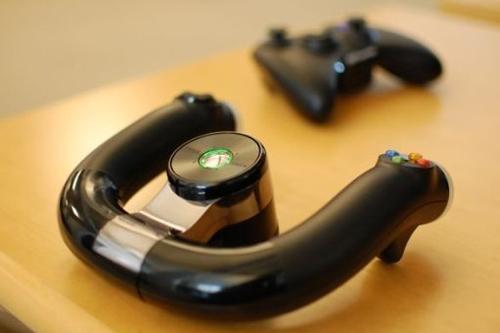 Vô lăng đua xe Xbox360 wireless