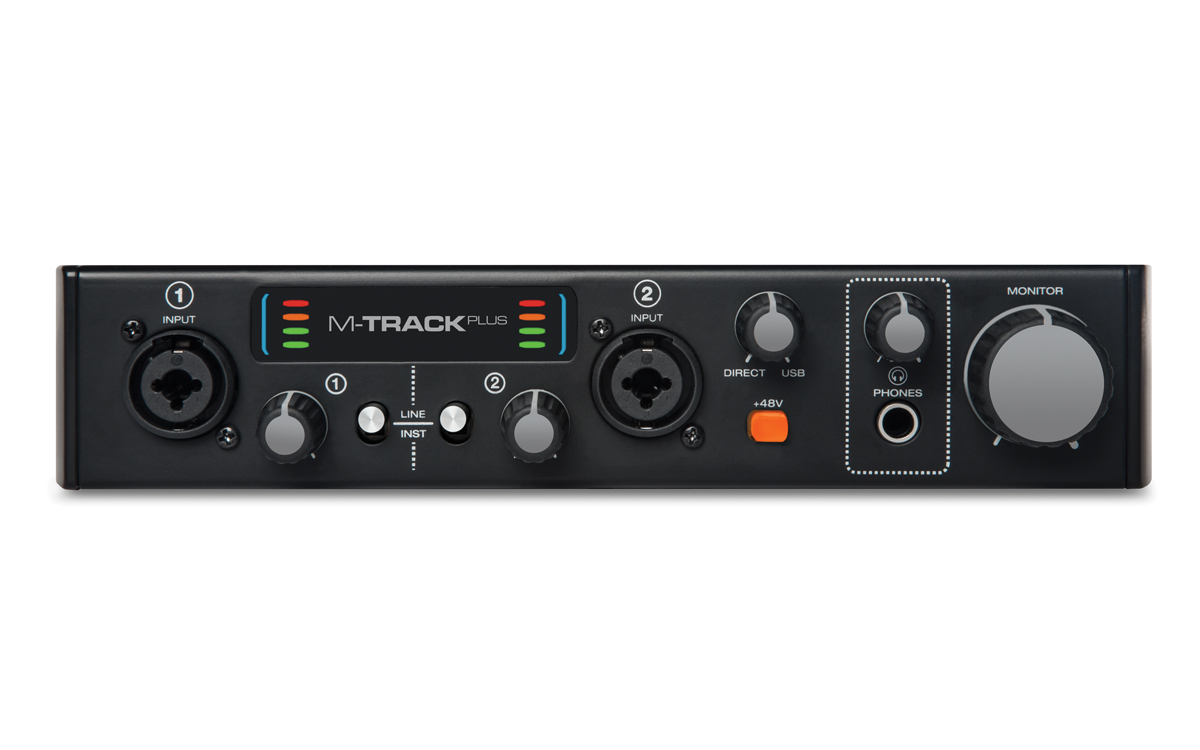 Sound card thu âm M-audio M-Track Plus II