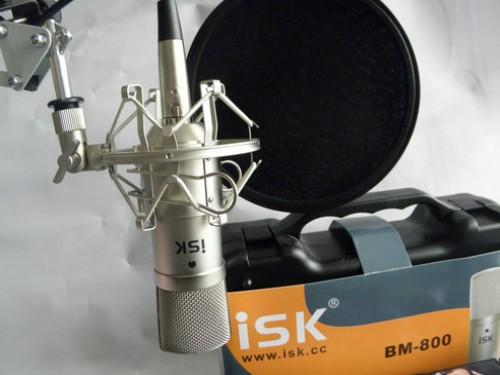 Micro thu âm ISK BM-800