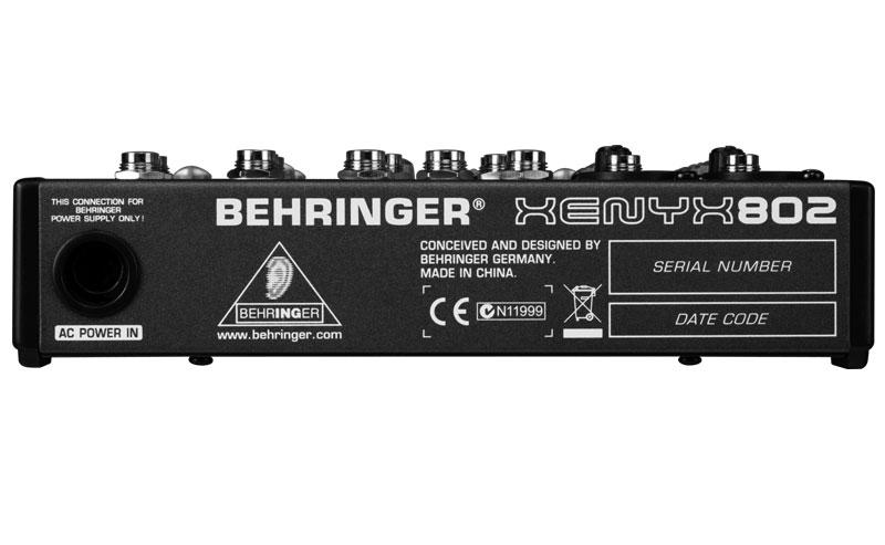 Mixer thu âm Behringer XENYX 802