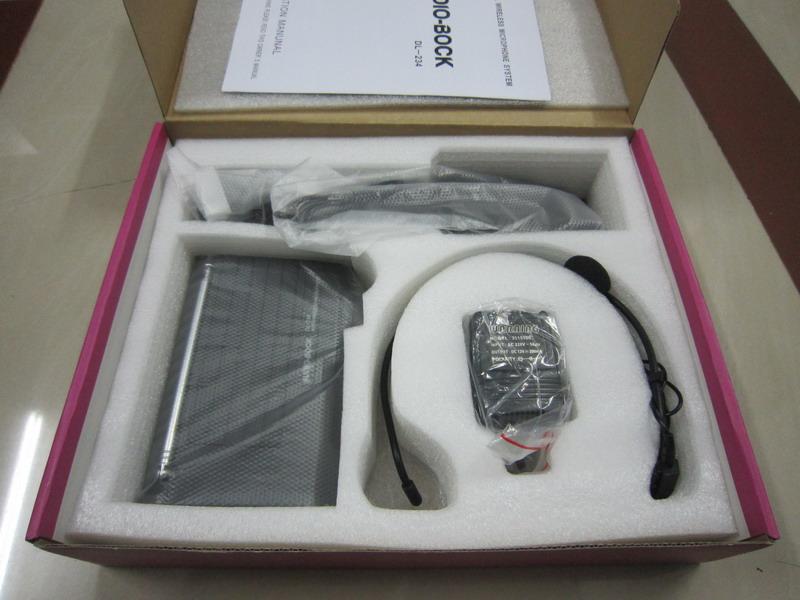 Micro cài áo không dây Audio Bock DL-234