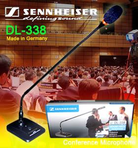 Micro hội nghị Sennheiser DL-338