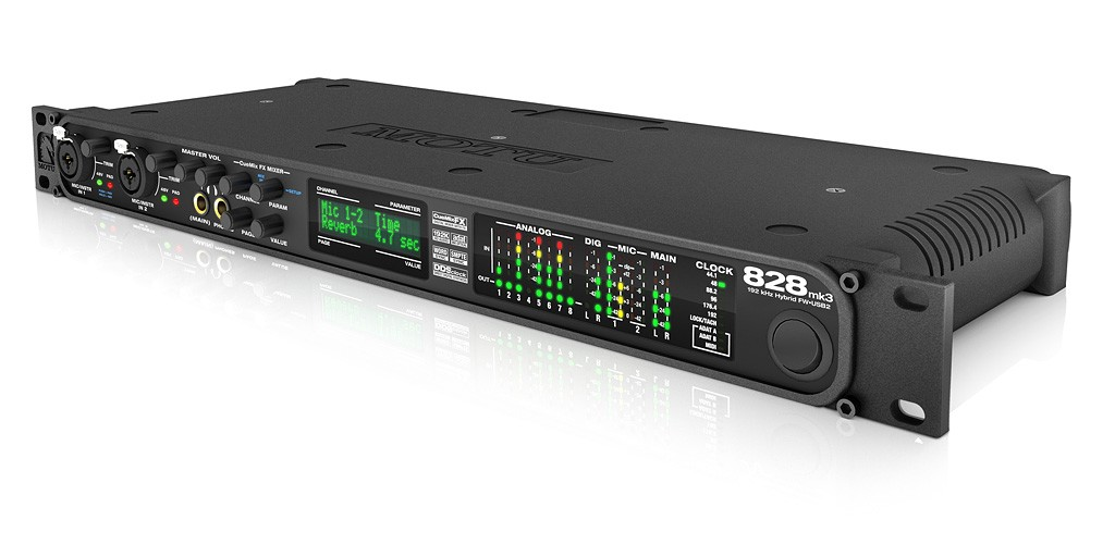 Sound thu âm cao cấp Motu 828 MK3 Hybird