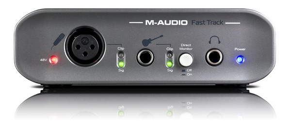 Sound card thu âm USB M-Audio Fast Track MK II
