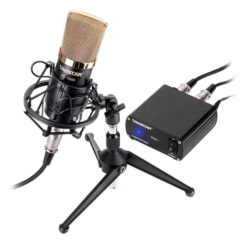Micro thu âm Takstar PC-K550