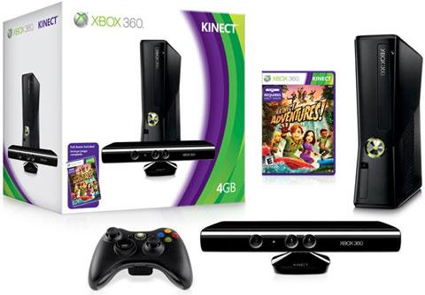 Máy Xbox 360 Slim 4GB + Kinect JTAG