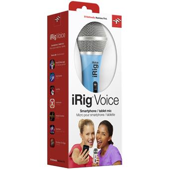 Micro thu âm, karaoke iRig Voice dành cho iPhone, iPad, iOS, Android
