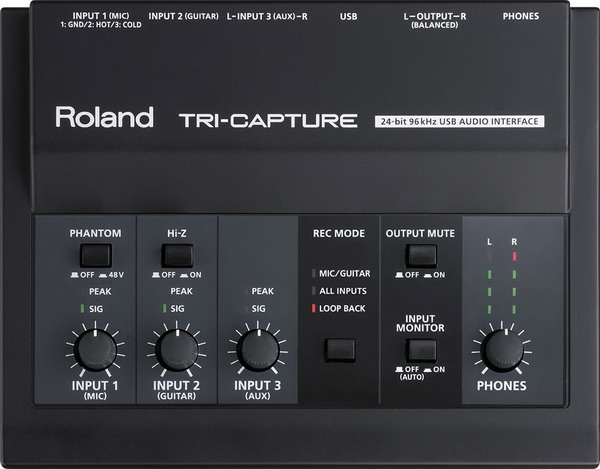 Sound thu âm USB ROLAND Tri Capture UA33