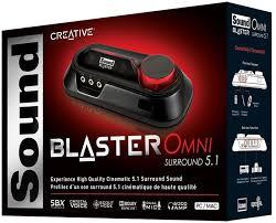 Sound karaoke online Creative Blaster Omni Surround 5.1