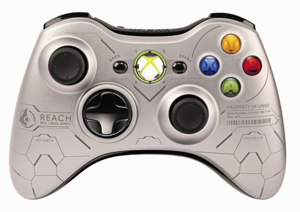 Gamepad Xbox360 wireless Halo Reach