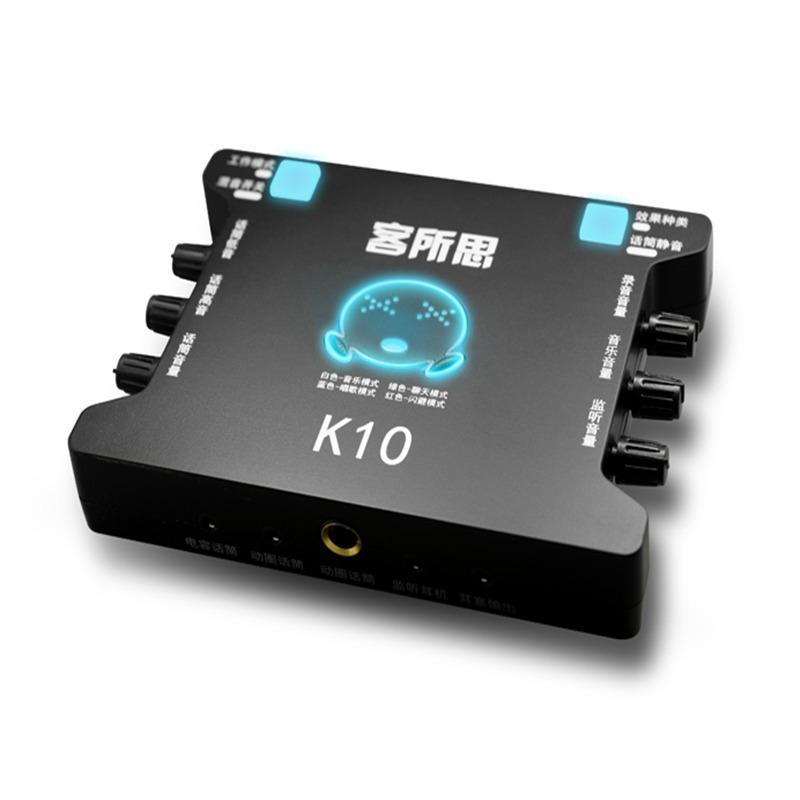 Sound Card USB XOX K10 hát karaoke online