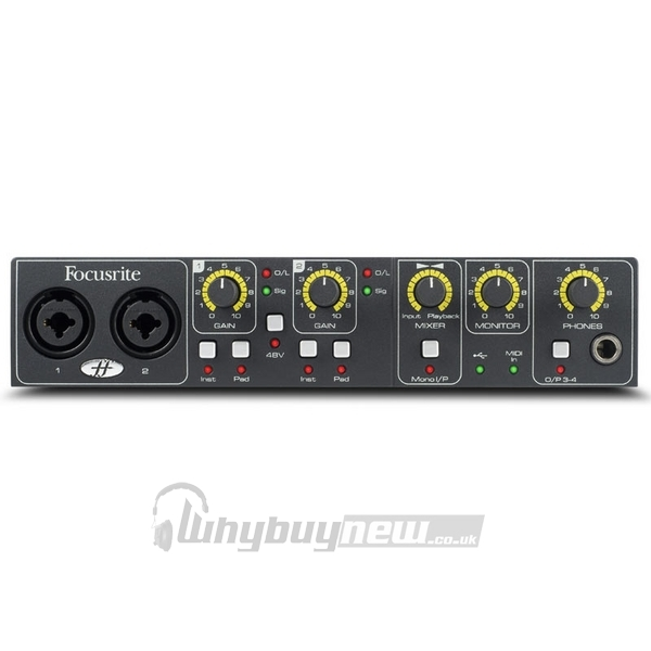 Sound card thu âm USB Focusrite Saffire 6