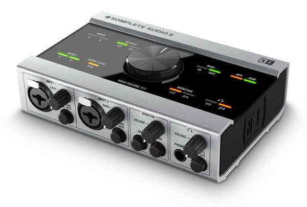 Sound card thu âm USB NI Komplete Audio 6