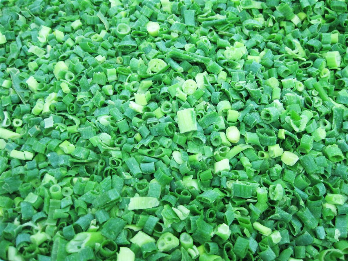 IQF green onion