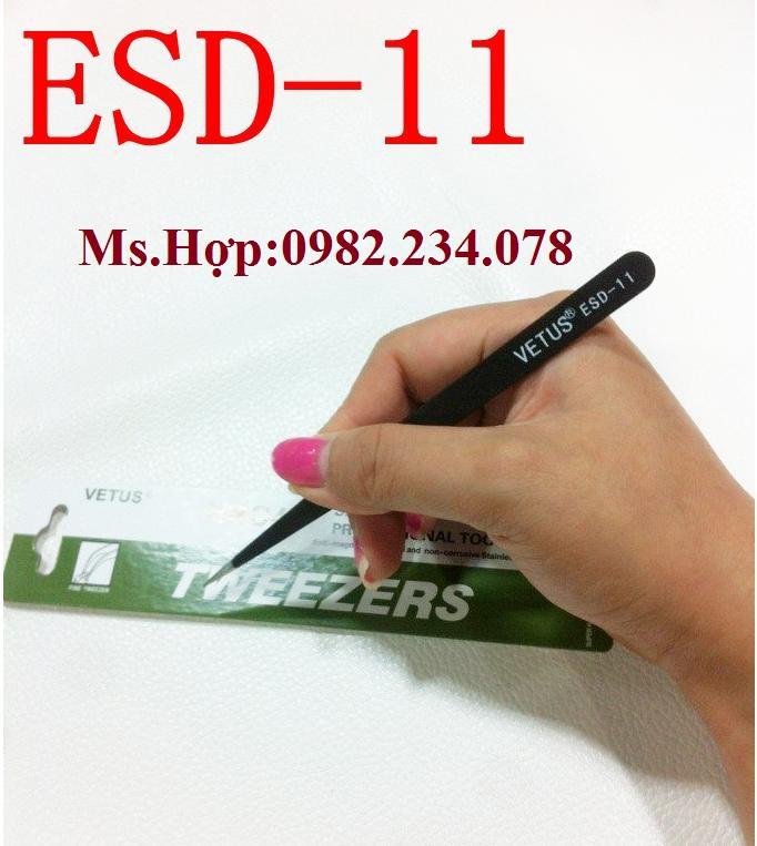 Bán Buôn / Nhíp chống tĩnh điện Vetus ESD- 11